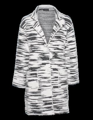 ANNECLAIRE Zebra Black White