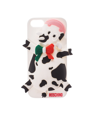 MOSCHINO Crazy Cow Black White