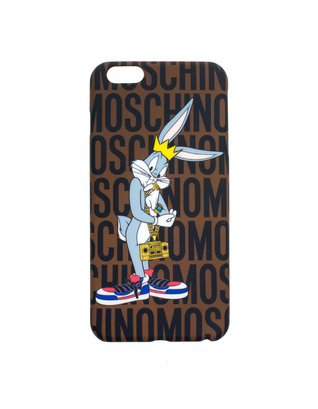 MOSCHINO Bugs Bunny Brown Multi