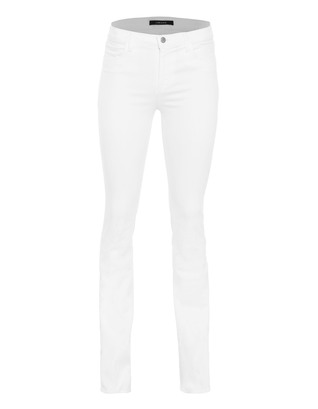 J BRAND 8017 Remy High-Rise Slim Boot Blanc