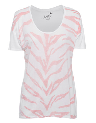 JUVIA Casual Zebra White Coral