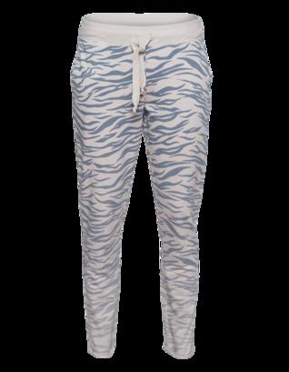 JUVIA Zebra Sweat Long Blue Beige