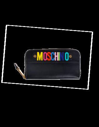 MOSCHINO Colour Letter Black