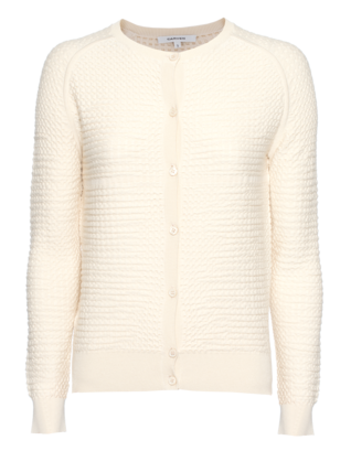 CARVEN Square Pattern Beige