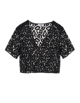 BOUTIQUE MOSCHINO Sexy Cool Lace Black