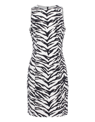 BOUTIQUE MOSCHINO Sexy Zebra Black White