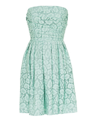 MOSCHINO Cheap and Chic Leo Lace Gather Mint