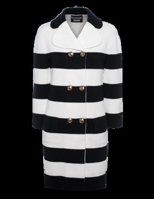 BOUTIQUE MOSCHINO New Striped Black White