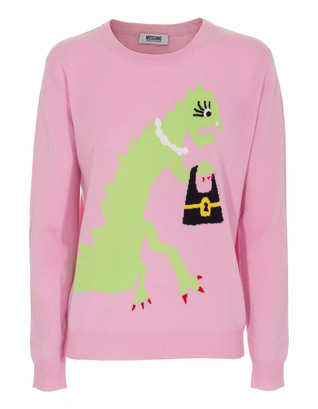 MOSCHINO Cheap and Chic T-Rex Girl Pink