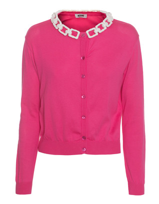 BOUTIQUE MOSCHINO Bones Chain Pink