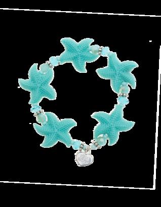 YUTA PASCH Lovely Starfish Turquoise