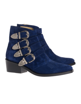 Toga Pulla Cowboy cool suede blue