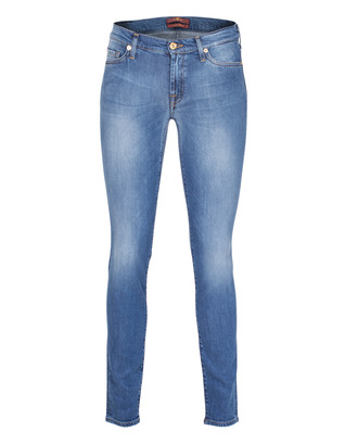 SEVEN FOR ALL MANKIND The Skinny Bright Blue