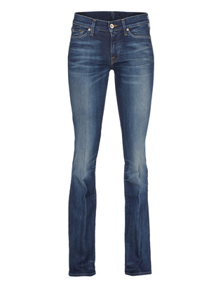 SEVEN FOR ALL MANKIND The Classic Bootcut Mid Blue