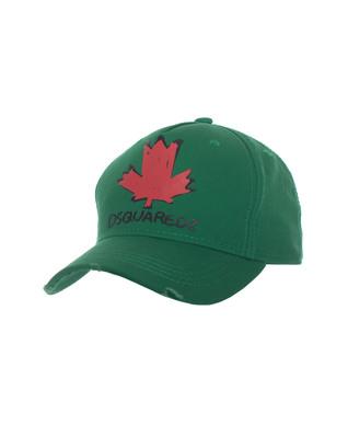 DSQUARED2 Leaf Logo Green