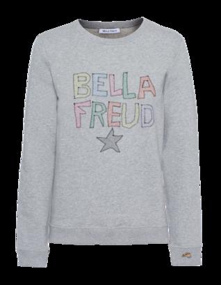 Bella Freud Bella Star Marl Grey