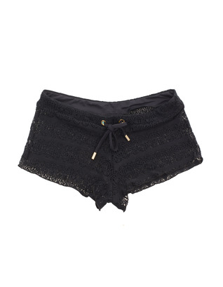 Melissa Odabash Crochet Filigree Black