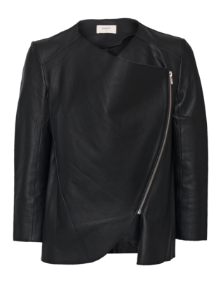 BA&SH Cruise Leather Noir