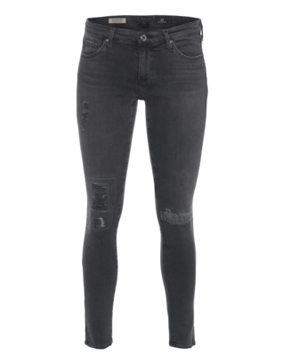 AG Jeans The Stilt Legging Ankle Mantra Mend