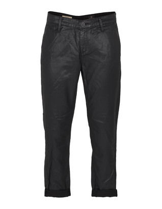 AG Jeans The Tristan Tailored Leatherette Super Black