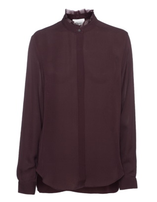 3.1 PHILLIP LIM Loose Silk Merlot