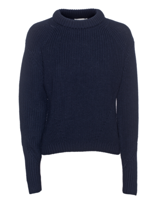 3.1 PHILLIP LIM Rib Heavy Knit Navy