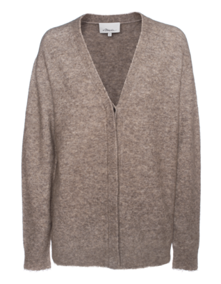 3.1 PHILLIP LIM Heathered Knit Oat Meal Beige