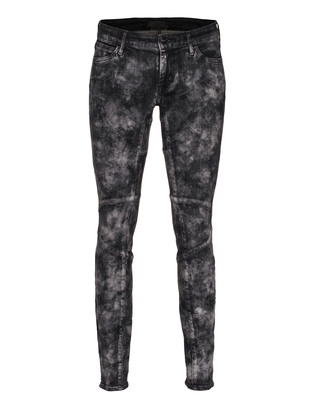 KORAL LOS ANGELES Chem Biker Tye Dye Black
