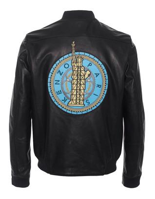 KENZO Liberty Leather Black