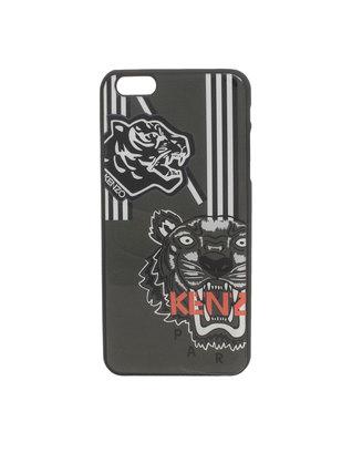 KENZO Large Tiger Heads Logo Anthra