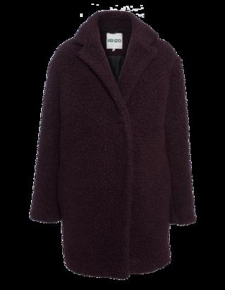 KENZO Cozy Wool Burgundy
