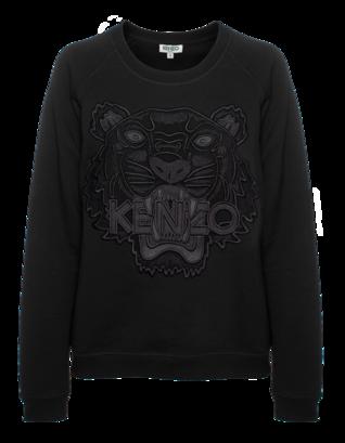 KENZO Iconic Tiger Mesh Black