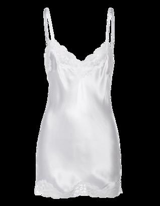 FALCON & BLOOM Romantic Cami Silk White