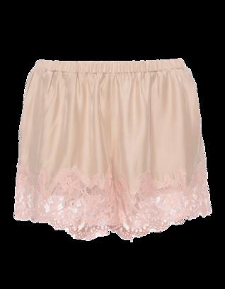 FALCON & BLOOM Romantic Lace Wide Apricot Nude