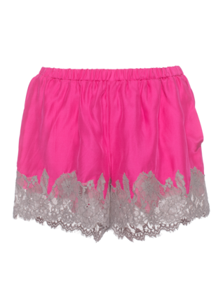 FALCON & BLOOM Romantic Lace Wide Taupe Pink