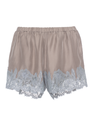 FALCON & BLOOM Romantic Lace Wide Grey Taupe