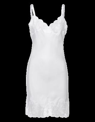 FALCON & BLOOM Romantic Slip White