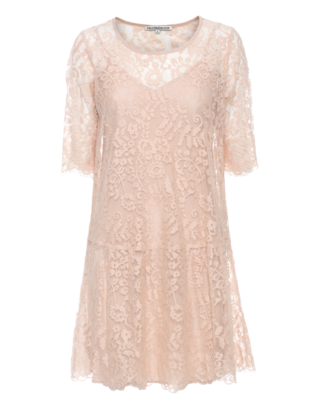 FALCON & BLOOM Romantic Floral Lace Nude