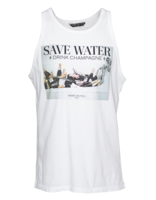 FAME ON YOU Save Water White