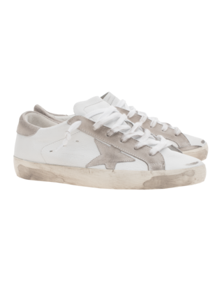 GOLDEN GOOSE Superstar Archive Leather White