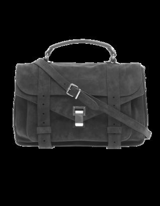 PROENZA SCHOULER PS1 Medium Suede Grey