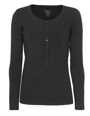 Majestic Filatures  Henley Soft Touch Heather Anthra