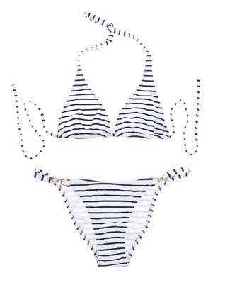 Melissa Odabash Italy Stripe Blue White