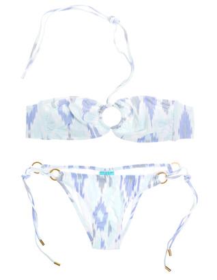 Melissa Odabash Janeiro Ikat Blue White