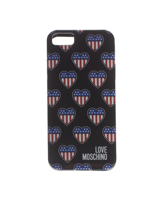 LOVE Moschino Stars Stripes Heart Black