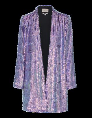 Essentiel Antwerp Jiggly All Over Sequined Purple
