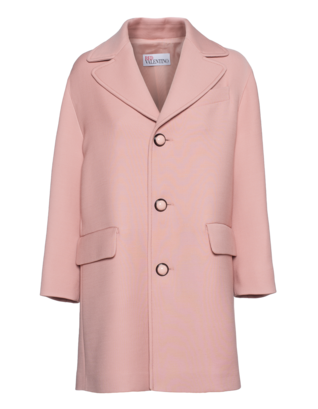 RED VALENTINO New Wool Ember Rose