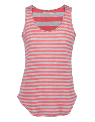 J BRAND READY-TO-WEAR Bell Tank Heather Coral Grey