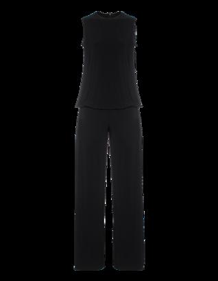 NORMA KAMALI Sleeveless Baby Doll Black
