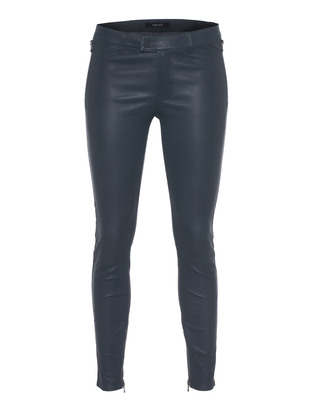 J BRAND L8430 Leather Jamie Biker Alloy